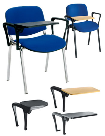 Club Classroom Chair with Writing Tablet