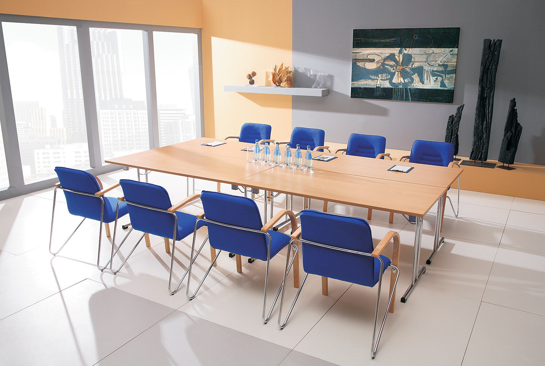 Boardroom Tables Desks Chairs And Tables - Folding boardroom table